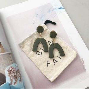 Madewell Shapes Statement Earrings